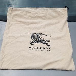 Large BURBERRY Drawstring Dust Bag